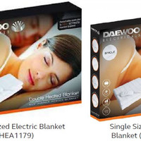 Supervalu and Centra extend recall of electric blankets for fear they may catch fire