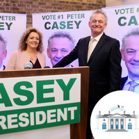 Peter Casey calls Michael D 'uninspiring' as he officially launches his presidential campaign