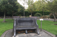 Double Take: The bench in St Stephen's Green celebrating a little-known married couple