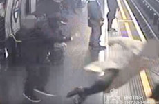 Man guilty of attempted murder after pushing 91-year-old man onto train tracks