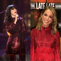 Amy Huberman and Imelda May wore the same fab dress during their chatshow appearances last night