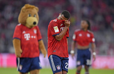 Bayern embarrassed 3-0 at home by Borussia Monchengladbach as winless run continues