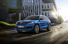 Skoda readies the hot Kodiaq RS model for Ireland