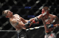 Tony Ferguson wins wild scrap as broken hand ends Anthony Pettis' night