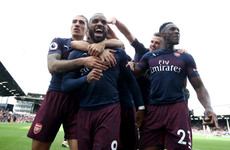Impressive Arsenal make it nine wins on the bounce as Emery's men thump Fulham in London derby