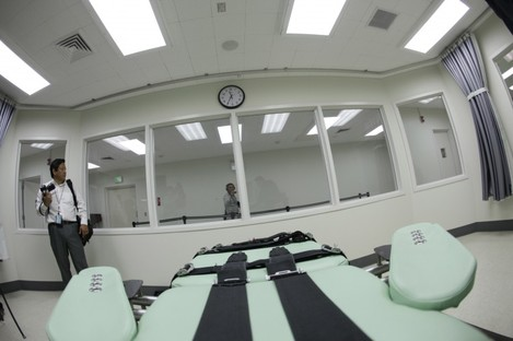 The new lethal injection facility at the San Quentin State Prison in California