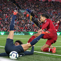 Liverpool's Van Dijk glad to escape penalty pain in City draw
