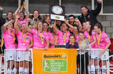 Wexford Youths lift Women's NL Shield after shoot-out victory