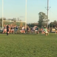 Watch: Dramatic late goal from free beats 13 men on the line to settle Antrim semi-final