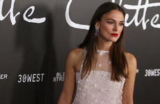 Keira Knightley rails against the expectation placed on Kate Middleton in the aftermath of labour