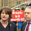 DUP and UUP leaders to meet Michel Barnier in Brussels in effort to prevent Irish Sea border