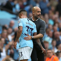Guardiola says sorry to Gabriel Jesus for stopping him taking penalty