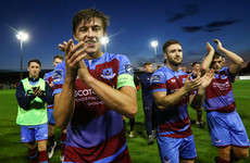 Drogheda captain suffers broken leg after 'cowardly tackle'