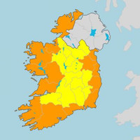 Storm Callum: 13 counties on Status Orange alert as high winds to hit tomorrow night