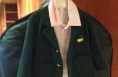 Bubba's newborn son has his own green jacket