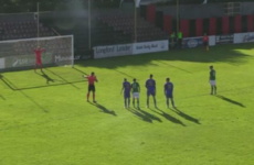 Watch: Ireland striker Troy Parrott pulls off cheeky panenka penalty