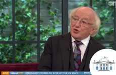 Michael D Higgins gives his first TV interview of the campaign on the Ireland AM couch