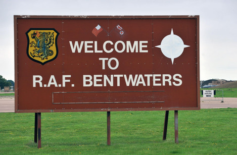 Bentwaters air force base, where the sightings are alleged to have occurred.