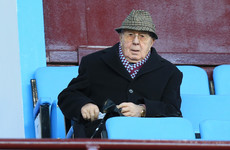 Former Aston Villa owner Doug Ellis dies aged 94