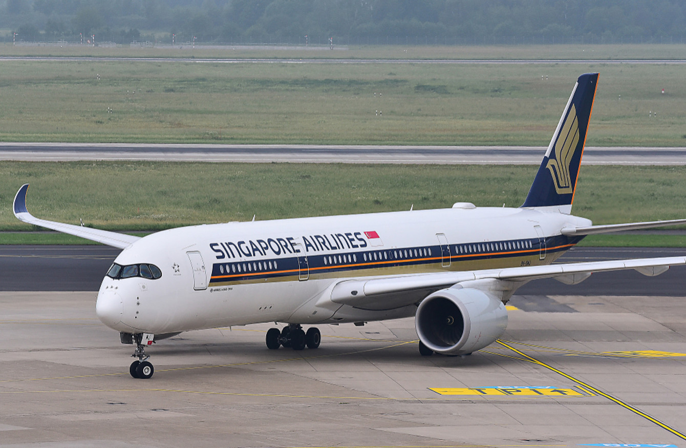 From Singapore to New York - world\'s longest non-stop flight ...