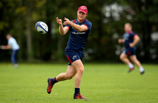Bleyendaal set for return from neck injury in Munster A clash with Leinster