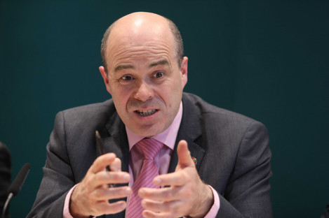 Former Communications Minister Denis Naughten.