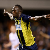 Usain Bolt scores first 'professional' goals for Central Coast Mariners