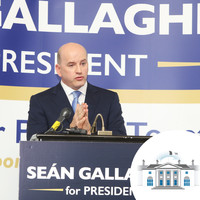 'I want to succeed Michael D, not replace him': Sean Gallagher formally launches presidential campaign