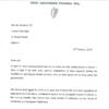 Micheál Martin writes to Leo Varadkar urging him to say he won't call an election