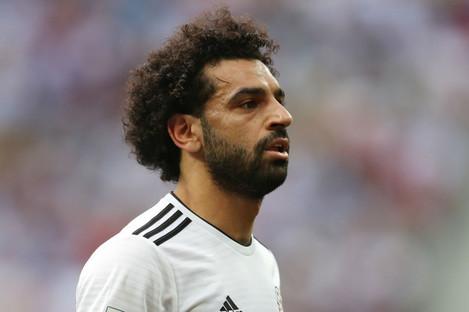 Egypt and Liverpool attacker Mohamed Salah