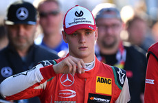 Michael Schumacher's 19-year-old son Mick has just won the Formula 3 European Championship