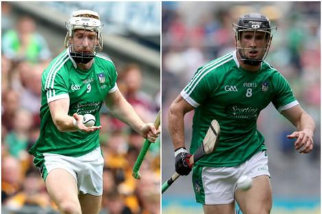 Limerick duo Cian Lynch and Darragh O'Donovan faced off today.
