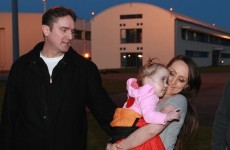 Toddler returns to Ireland after life-saving treatment in Boston