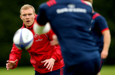 Earls 'a worry' for Munster as he heads for scan on hamstring injury