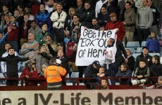 Villain: McLeish 'understands' reaction from angry fans