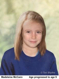 British police believe Madeleine McCann could still be alive