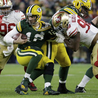 Late, late show as Packers score 10 points in final two minutes to stun 49ers