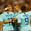 Dutch midfielder scores first international goal to end Belgium's winning run
