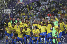 Miranda heads 93rd-minute winner as Brazil defeat Argentina in sapping Saudi Arabia heat