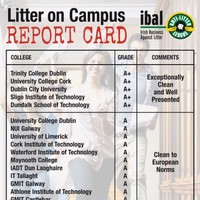Green light given to most third level colleges graded on litter and cleanliness