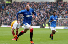 Northern Ireland block Kyle Lafferty from playing for Rangers on Sunday following international no-show
