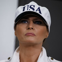 Plane carrying Melania Trump forced to turn around after cabin fills with smoke