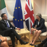 'We're working very hard': Theresa May says they can solve Irish backstop issue