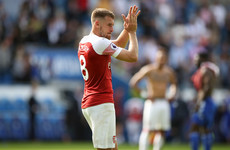Rival clubs hover as Unai Emery fails to assure Aaron Ramsey of Arsenal future