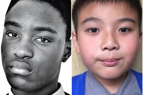 14-year-old Nonso Muojeke and 9-year-old Eric Zhi Ying Xue.
