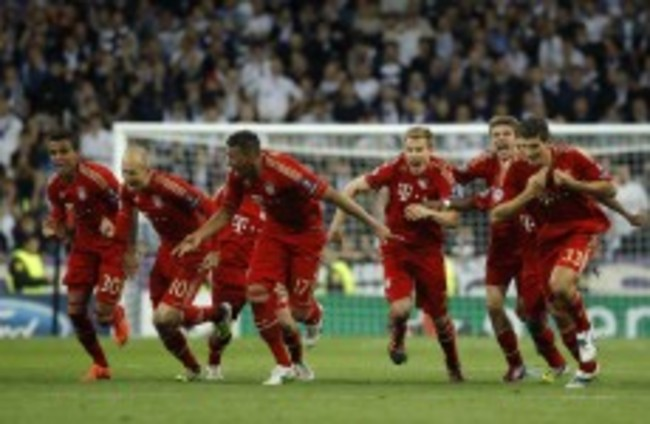 As it happened: Real Madrid v Bayern Munich, Champions League semi-final