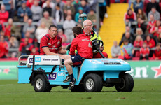 Triple injury blow tempers Munster celebrations