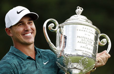 Golf has a new world number one as Koepka dethrones Johnson following CJ Cup win
