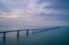World's longest sea bridge finally set to open this week
