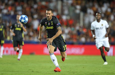 Bonucci turned down Man United move to return 'home' to Juventus